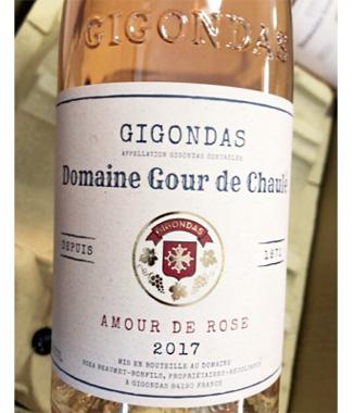 Domaine du Gour de Chaule 2017 'Amour de Rose' Gigondas Rose