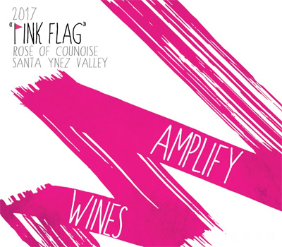 Amplify Wines 2017 'Pink Flag' Rose of Counoise, Santa Ynez Valley