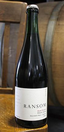 Ransom Wines & Spirits 2017 Rosato Frizzante Pinot Noir, Eola-Amity Hills