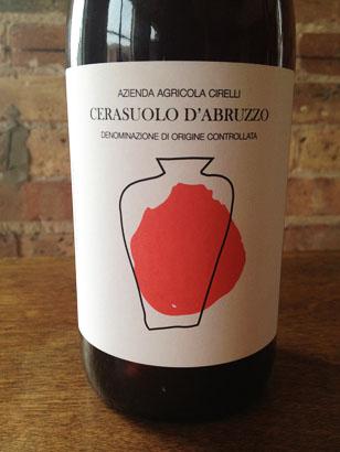 Cirelli 2016 Cerasuolo d'Abruzzo DOC (Anfora)