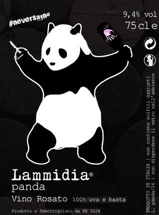 Lammidia (1.5 L) 2019 'Panda' Rosato, Abruzzo