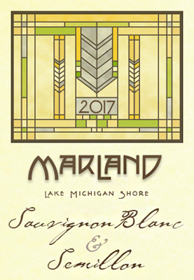 Wyncroft 2018 'Marland' Bordeaux Blanc, Lake Michigan Shore