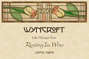 Wyncroft (375 ml) 2013 Riesling Ice Wine, Wren Song Vineyard, Lake Michigan Shore