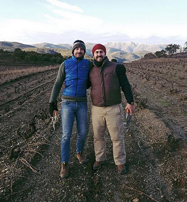 Pepe Raventós & Francesc Escala learned concepts of pruning high altitude vines in Empordà.