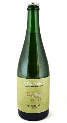 Meinklang 2015 Cider, Burgenland