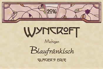 Wyncroft 2016 Blaufrankisch, Glacier's Edge Vineyard, Michigan