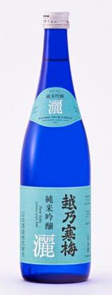 Koshi no Kanbai (720 ml) 'Blue River' (Sai) Junmai Ginjo, Niigata Prefecture