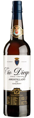 Bodegas Valdespino 'Tio Diego' Amontillado Sherry, Jerez DO