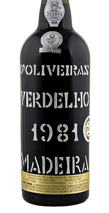 D'Oliveira 1981 Verdelho, Madeira DOC