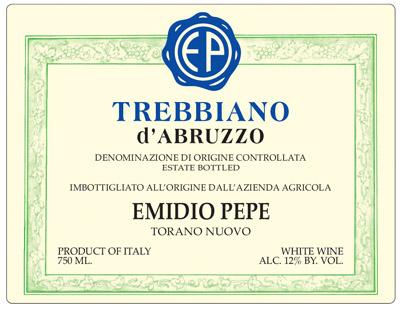 Emidio Pepe 2013 Trebbiano d'Abruzzo DOC