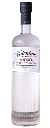 Valentine Detroit Distilling Co. Vodka (80 proof)