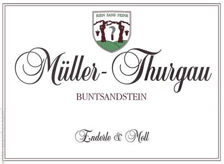 Enderle & Moll 2018 'Buntsandstein' Muller-Thurgau, Baden