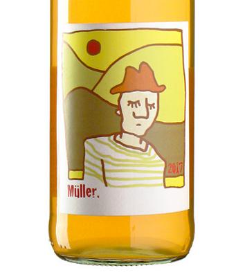 Enderle & Moll 2017 'Muller' Muller-Thurgau, Baden