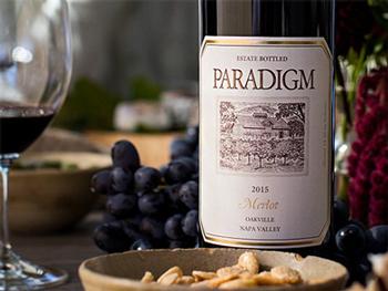 Paradigm Winery 2015 Merlot, Oakville