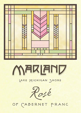 Wyncroft 2018 'Marland' Rose of Cabernet Franc, Lake Michigan Shore