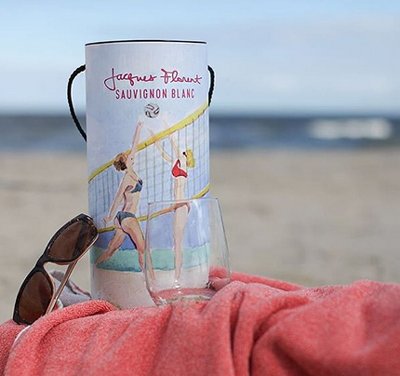 Jacques Florent is the perfect beach companion.