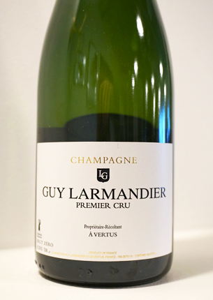 Champagne Guy Larmandier NV Brut Zero, Champagne 1er Cru AOC