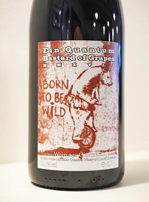 Quantum Winery 2017 'Bastard of Grapes' Red Blend, Austria