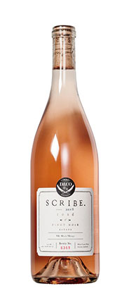 Scribe Winery 2018 Pinot Noir Rose, Carneros