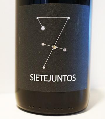 MicroBio Wines 2016 'Sietejuntos' Tempranillo, Spain (Rueda)