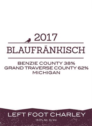 Left Foot Charley 2017 Blaufrankisch, Michigan