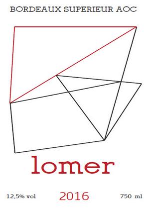 Les Tetes 2016 'Lomer' Bordeaux Superieur AOC