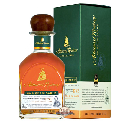 Chairman's Reserve Admiral Rodney 'Formidable' Aged Rum (80 proof)