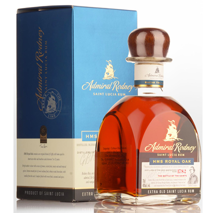 Chairman's Reserve Admiral Rodney 'Royal Oak' Aged Rum (80 proof)