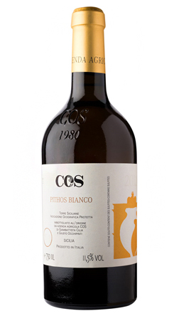 COS 2017 'Pithos' Bianco, Terre Siciliane IGP
