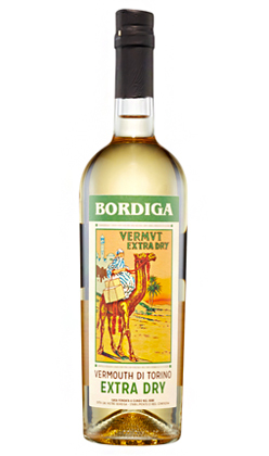 Bordiga (375 ml) Extra Dry Vermouth Bianco di Torino, Italy (37 proof)