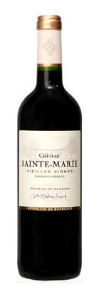 Chateau Sainte-Marie 2018 Vieilles Vignes Bordeaux Superieur Rouge AOP