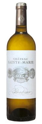 Chateau Sainte-Marie 2017 'Madlys' Entre-Deaux-Mers Blanc AOP