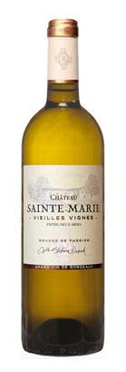 Chateau Sainte-Marie 2020 Vieilles Vignes Entre-Deux-Mers Blanc AOC