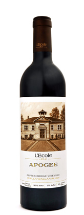 L'Ecole No. 41 2014 'Apogee' Bordeaux Blend, Pepper Bridge Vineyard, Walla Walla Valley