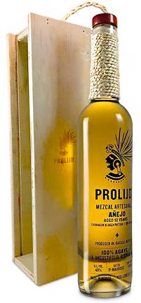 Prolijo Mezcal 12-Year Anejo Espadin, Oaxaca (80 proof)