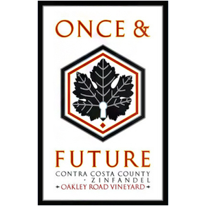 Once & Future 2018 Zinfandel, Oakley Road, Contra Costa County