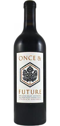 Once & Future 2018 'Frank's Block' Zinfandel, Teldeschi Vineyard, Dry Creek Valley