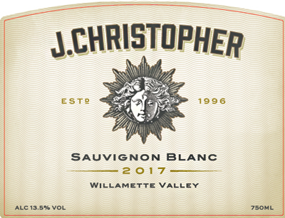 J. Christopher 2018 Sauvignon Blanc, Willamette Valley