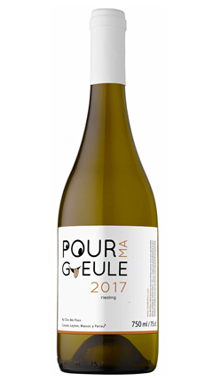 Clos des Fous 2017 'Pour Ma Gueule' Riesling, Itata Valley