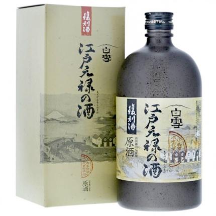 Shirayuki (720 ml) 'Edo Genroku' Junmai Genshu, Hyogo Prefecture