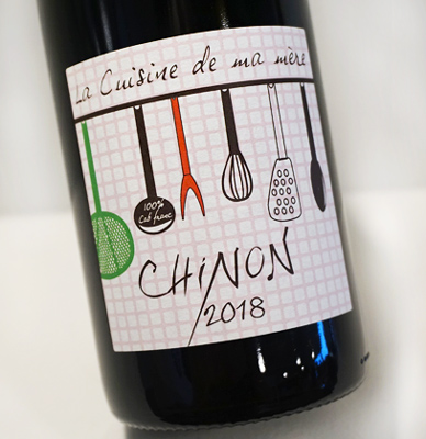 Domaine Grosbois 2019 'La Cuisine de Ma Mere' Chinon AOC