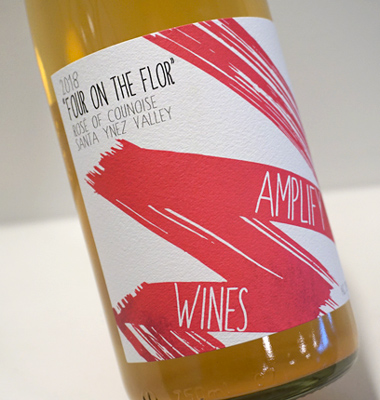 Amplify Wines 2018 'Four on the Flor' Rose of Counoise, Santa Ynez Valley