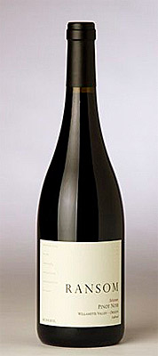 Ransom Wines & Spirits 2013 'Selection' Pinot Noir, Eola-Amity Hills