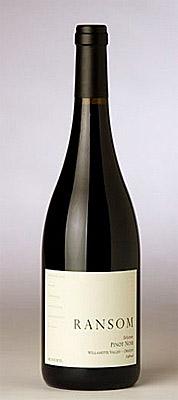 Ransom Wines & Spirits 2013 'Selection' Pinot Noir, Eola-Amity Hills