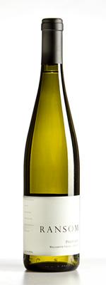 Ransom Wines & Spirits 2017 Pinot Gris, Cattrall Vineyard, Eola-Amity Hills