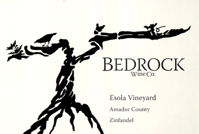 Bedrock Wine Co. 2018 Zinfandel, Esola Vineyard, Amador County