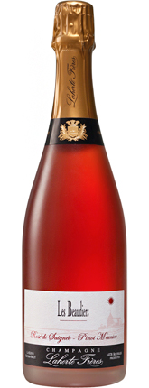 Champagne Laherte Freres 2014 Rose de Saignee Extra Brut, Les Beaudiers, Champagne AOC