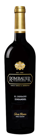 Rombauer Vineyards 2017 'Twin Rivers' Zinfandel, El Dorado
