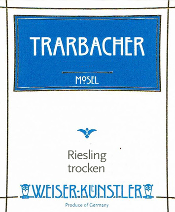 Weiser-Kunstler 2018 Riesling Trarbacher Trocken, Mosel