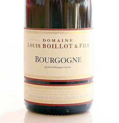 Domaine Louis Boillot 2017 Bourgogne Rouge AOC